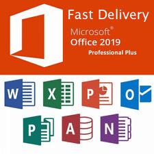 Microsoft Office 2019 Pro Plus 32/64 Bit Genuine License Key + SETUP 🔑 Windows