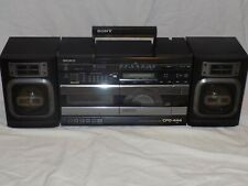 Vintage Sony CFD-444 FM AM CD Cassette Player Graphic Equalizer Boom Box