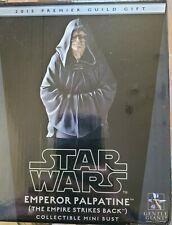 Star Wars Gentle Giant EMPEROR PALPATINE ESB PGM 2015 BUST NEW RARE