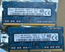 8GB HYNIX 4GBx2 DDR3 1600 MHz PC3-12800 204 Pin Laptop RAM Sodimm Memory