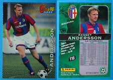 CARDS PANINI CALCIO 98 - N. 116 - KENNET ANDERSSON - BOLOGNA - new