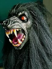 The Lycanthrope Elder Wolf, Latex, Display, Mask, Werewolf, Horror, Bust Howling