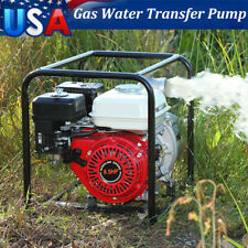 65hp 2 Gas Semi Trash Water Pump 2inch Inlet Outlet Npt Pool Garden Irrigation