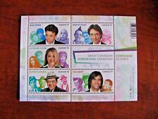Canada 2014 #2772 Great Canadian Comedians 4.25$ Souvenir Sheet Mint NHVF