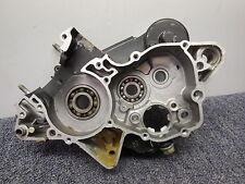 1987 Yamaha YZ125 Right side engine motor crankcase crank case 87 YZ 125
