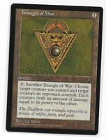 Magic the gathering ~ MTG ~ 1x Triangle of War ~ Visions ~ M/NM