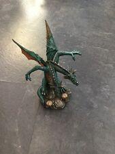 Double Headed Green Dragon Statue