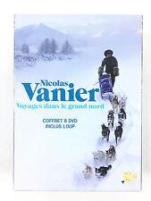 Coffret 8 DVD Nicolas Vanier : Voyages dans le Grand Nord / Loup...
