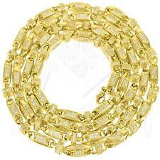 Men's Cubic Zirconia Stone Chains, Necklaces and Pendants