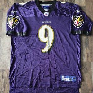Steve McNair Baltimore Ravens Reebok Adult Jersey Size XLARGE XL NFL