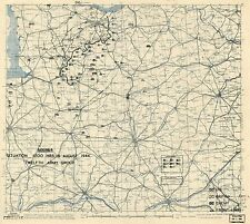 Battle Bulge Daily Situation Map war Ww2 Wwii history battle Normandy Invasion
