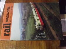 8µ? Revue Rail Magazine n°28 242 A1 Depot Paris Lyon St Gothard Cevenol La poste