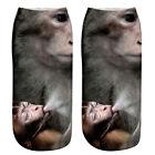 Lot 5 Paires Femme Fille Chaussettes Socquettes 3D Chat Animal Invisible Souple