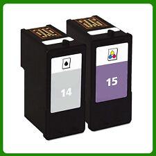2 Ink Cartridge for NO.14 NO.15 Z2300 X2600 X2670 Z2310 X2630 Z2320 X2650