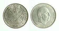 pcc1783_4) SPAGNA Franco Caudillo 1966 - 100 PESETAS 1966 (66)