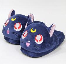 Luna Cat Plush Slipper Sailor Moon Cartoon Fashion Indoor Home Comfortable Shoes