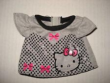 Sanrio - Hello Kitty Dress-Me - T-Shirt - Grey with Hello Kitty Face!