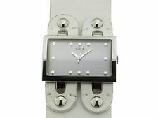 GUESS TREND quarzo lady acciaio cinturino pelle bianca referenza 65162L2 new