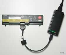 External Laptop Battery Charger for Lenovo ThinkPad L410 T410 T510 T520i 42T4795