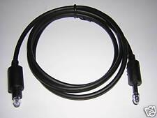 1m Toslink > MD 3,5mm Opti optisches Kabel Lichtleiter