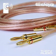 5m CUSTOM MADE Terminated 2.5mm² Speaker Cable (OFC Cable & BP1 Banana Plugs)