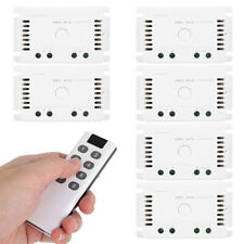Wireless Remote Control Switch LED Light Controller 6 Receiver Transmitt