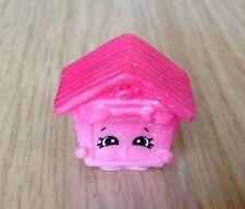 Shopkins Stagione 4 ULTRA RARA CUCCIOLO E CASA Glitter Sparkle rosa spedizione combinata