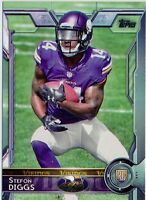 STEFON DIGGS - 2015 Topps Rookie Card #452 - Maryland - Vikings RC