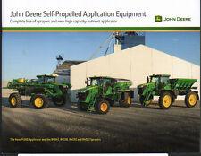 John Deere automoteur matériel d'application brochure dépliant