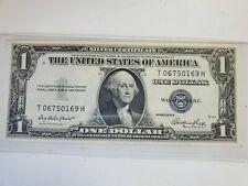 SERIES 1935 E  $1 DOLLAR BILL SILVER CERTIFICATE BLUE SEAL NOTE