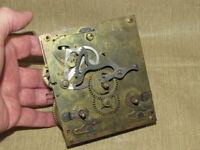 Antique Gustav Becker German Wall Clock Movement (P 42) Parts