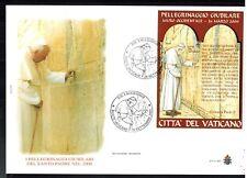 2001-Vatican-Jean Paul II-Recueil devant le Mur -Jérusalem-Enveloppe-Yt.BF23