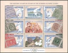 Kyrgyzstan 2002 4 x 6v m/s  Olympic Games/Olympics/Sports/Stamp-on-Stamp  s2216e