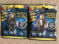 Character Building Doctor Who 11th Doctor & Amy Pond Cake Decoration Topper New