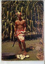 CP Océanie - Polynésie - Tahiti - Préparation du coprah