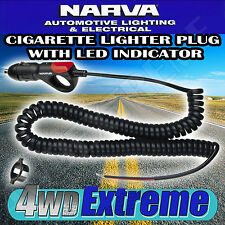 NARVA CIGARETTE LIGHTER PLUG LED INDICATOR FRIDGE BATTERY L.E.D WAECO 81018BL
