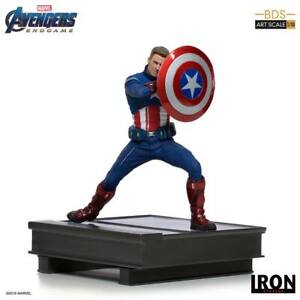 Avengers Endgame BDS Art Scale Statue 1/10 Captain America 2023 19cm Iron Studio