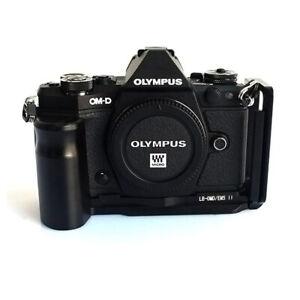 EM5 II Quick Release Plate Hand Grip L Bracket for Olympus OM-D EM5 Mark II