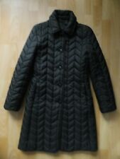 CONCEPT UK Damen Steppmantel Schwarz Gr. 34