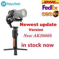 US Feiyu AK2000s 3-Axis Focus Zoom Handheld Gimbal Stabilizer for Cameras DSLR