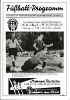 18.07.1989 FC St. Pauli - FC Schalke 04 beim Harburger TB von 1865