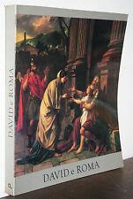 David a Roma catalogo Roma Villa Medici 1981