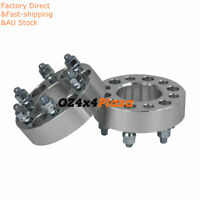 2Pcs Wheel Spacers for Toyota Hilux 6 Lugs 6x139.7 38mm M12X1.5 6studs
