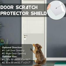 2x Clear Adhesive Door Scratch Protector Shield Invisible Window Pet Dog Access