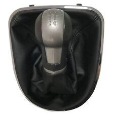 5 Speed Gear Shift Knob for Seat Leon II Altea Toledo III With Leather Gaiter