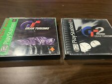 Gran Turismo 1 & 2 Lot of 2 Video Games for Sony PlayStation 1 (Ps1) Tested Race