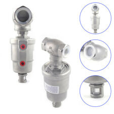 Type T Pneumatic Actuated Angle Seat Valve Double Acting 304 Stainless Steel New