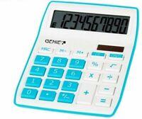 GENIE 840B Solar Tischrechner Rechenmaschine Rechner Bürorechner Taschenrechner