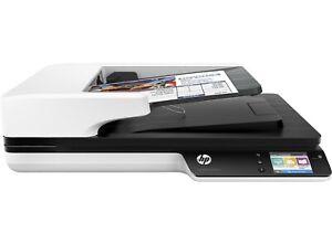 Flachbettscanner HP ScanJet Pro 4500 fn1, Netzwerkscanner, Duplexscanner, OVP