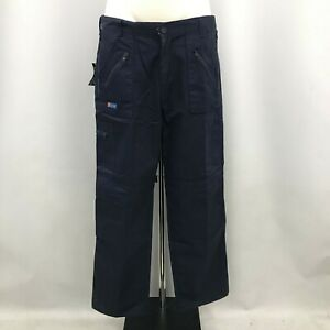 New Click Combat Trousers Mens Size 36 Navy Blue Work Pockets 110366